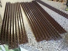 8 x Fence wall spiky strips anti-burglar stop intruders