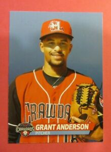 2019 Choice, Hickory Crawdads - GRANT ANDERSON