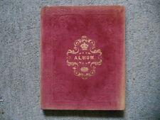 Victorian Sketch and Scrap Album