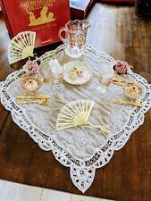 New ListingAmerican Girl Samantha's Birthday Story: Victorian Lemonade Set And Party Treats
