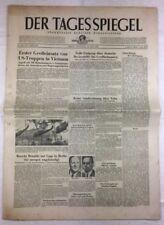 Le miroir du jour (30.6.1965): Premier mobilisait des troupes américaines au VIETNAM