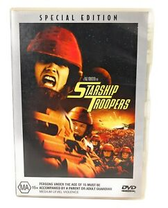 Starship Troopers DVD Special Edition Region 4 Free Postage
