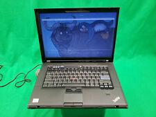 Libreboot Lenovo Thinkpad T500 Core 2 Duo @ 2.26GHz 160GB HDD 8GB RAM Trisquel 8