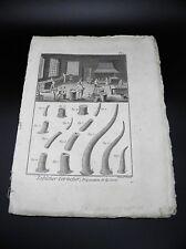 TABLETIER CORNETIER 14 Planches COMPLET Encyclopédie Méthodique IV OIRE 1785