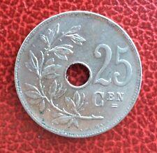 Belgique - Albert Ier - Superbe monnaie de 25 Centimes  1926 VL
