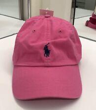 7dd2ff61 Polo Ralph Lauren Men's Chino Sports Cap Cotton One Size Maui Pink NEW $40