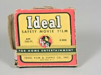 ideal safety motion picture film BOX from Charlie Chaplin Film