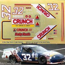 NASCAR DECAL #32 NESTLE CRUNCH 1990 BGN PONTAIC GRAND PRIX DALE JARRETT