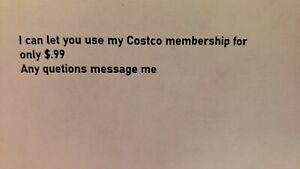 Costco membership
