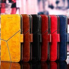 Mobile Leather Case Samsung Galaxy Note4 Magnetic Flip Wallet Stand Phone Cover