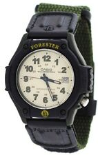 Casio FT500WC-3B Men's Forester Fabric Band Analog Illuminator Sports Watch