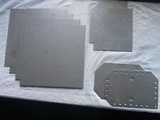 """HHO 6""""/6"""" Conjunto de 7, placas de acero inoxidable 316L juntas de hidrógeno Pila Seca"""