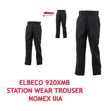 "ELBECO RESPONSE TRANSCON FR STATION WEAR TROUSER NOMEX IIIA PANTS 30"" NO HEM"