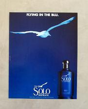E719- Advertising Pubblicità -1997- LUCIANO SOPRANI , SOLO SOPRANI BLU