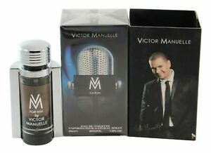 Victor Manuelle By Victor Manuelle 3.4oz/100ml Edt Spray For Men New In Box
