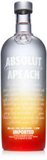 Absolut APEACH or CITRON or RUBY RED VODKA 1 Litre Brand New Absolute ly SEALED!