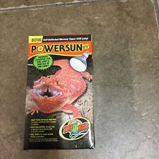 Powersun 80w Uvb Heating Lamp Bulb For Desert & Basking Reptiles