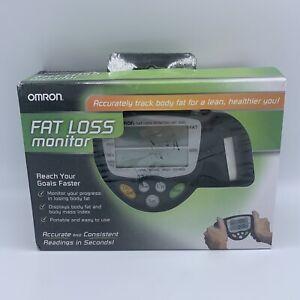Omron HBF-306C Fat Loss BMI Monitor Tracker - Black Used Once