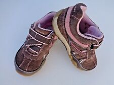 Stride Rite Baby Girls Shoes Sneakers Sandals Booties Size 5W 5 Carissa Leather