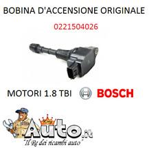 BOBINA D'ACCENSIONE ORIGINALE BOSCH ALFA ROMEO 4C 159 GIULIETTA SPIDER 1.8 TBI
