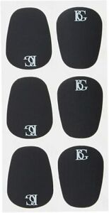 BG A10L Mouthpiece Patch / Cushions - Pack of 6 - Black - Saxophone or Clarinet