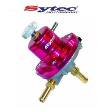 SYTEC 1:1 SAR AJUSTABLE 1-5 BAR REGULADOR DE PRESIÓN DE COMBUSTIBLE ROJO 8mm