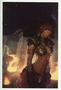 Red Sonja #1 - Gerald Parel Virgin Variant - NM+ or better - Rare and HTF!