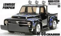 Tamiya 58594 Midnight Pumpkin LOWRIDER RC Kit - DEAL BUNDLE w/ STEERWHEEL Radio