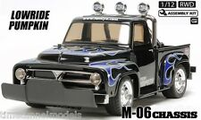 TAMIYA 58594 Midnight Pumpkin Lowrider RC Kit-Accordo Bundle con doppio stick Radio