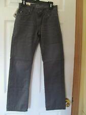 NWT Boy's VANS OFF THE WALL SLIMBO SLIM STRAIGHT FIT PANTS size 10 Gray Tar