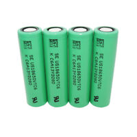 4X 18650 VTC6 3000mAh 3.7V Battery High Drain Rechargeable Li-ion for Vape Mod