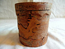 Trinket Box Made From Cinnamon Bark Asian Dragon Design Smells Nice