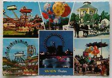 Wien Vienna Prater 1967 Postcard (P288)