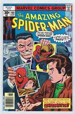 Amazing Spider-Man #169 Fine Signed Len Wein w/COA 1977 Marvel Comics PWC