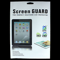 """2x 10"""" inch Android Tablet PC Screen Protector Cover Shield + Free Cloths UK"""