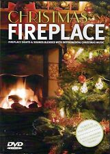 CHRISTMAS FIREPLACE: VIRTUAL HD HOLIDAY SCENE w/ INSTRUMENTAL MUSIC in 5.1 SOUND