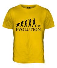 Toy Manchester Terrier Evolution Of Man Mens T-Shirt Tee Top Dog Walker Walking