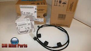 MINI Genuine Rear Brake Pad Set and Sensor 34212289154