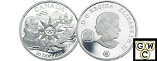 2007 International Polar Year Proof $20 Silver (12170)
