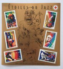 Bloc n°50 Croix Rouge neuf**, Interprètes de jazz, année 2002