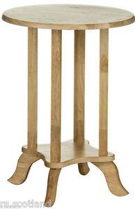 Telephone Table/End Table Tropical Hevea Wood Home Office Modern Furniture