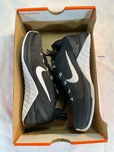 Nike Womens Metcon DSX Flyknit 2 Training Shoes -Black/White sz 5.5 (924595 001)