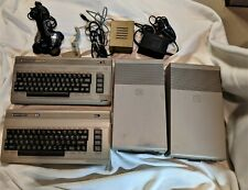 Two Commodore C-64 Systems with Drives and Power Supplies + Extras