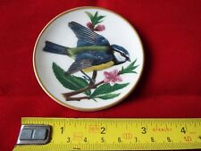 FRANKLIN PORCELAIN SONGBIRDS OF THE WORLD MINI PLATE. #16