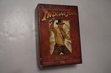 The Adventures of Indiana Jones 4 DVD Box Set Widescreen Temple of Doom Raiders