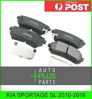 Fits KIA SPORTAGE SL Brake Pads Disc Brake (Rear)