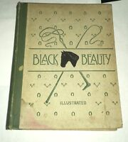 Black Beauty Anna Sewell H.M Caldwell 1894 Illustrated Edition H. Toaspern, Jr.