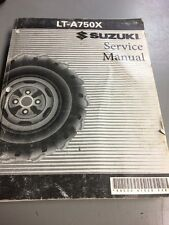 Suzuki Service Manual Repair LTA750X 2008 Model