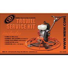 Mbw Power Trowel F46 Service Kit with Honda Gx270 Engine