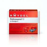Raydel-Policosanol10 Omega-3 30 Capsules